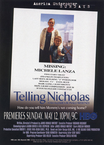 Original Telling Nicholas HBO Poster